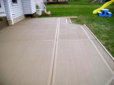 Cement Patio Ideas