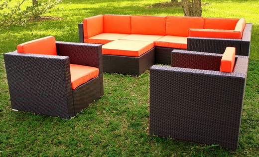 PVC Patio Furniture Set