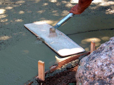 Patio Foundation