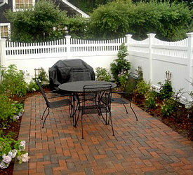 Garden Design Plans Stone Patio Design