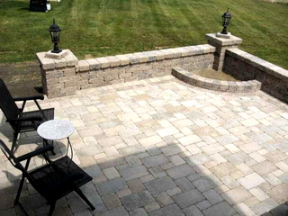 designer patio - Paver Patio Design Ideas