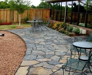 Flagstone Patio Designs Photos