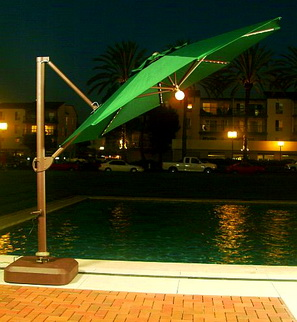 Patio Umbrella Lights